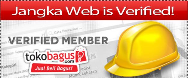 Jangka Web Verified Member TokoBagus.Com