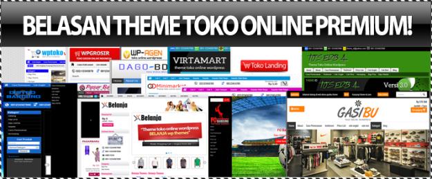 Pilih 16 Theme Toko Online Premium Untuk Web Anda