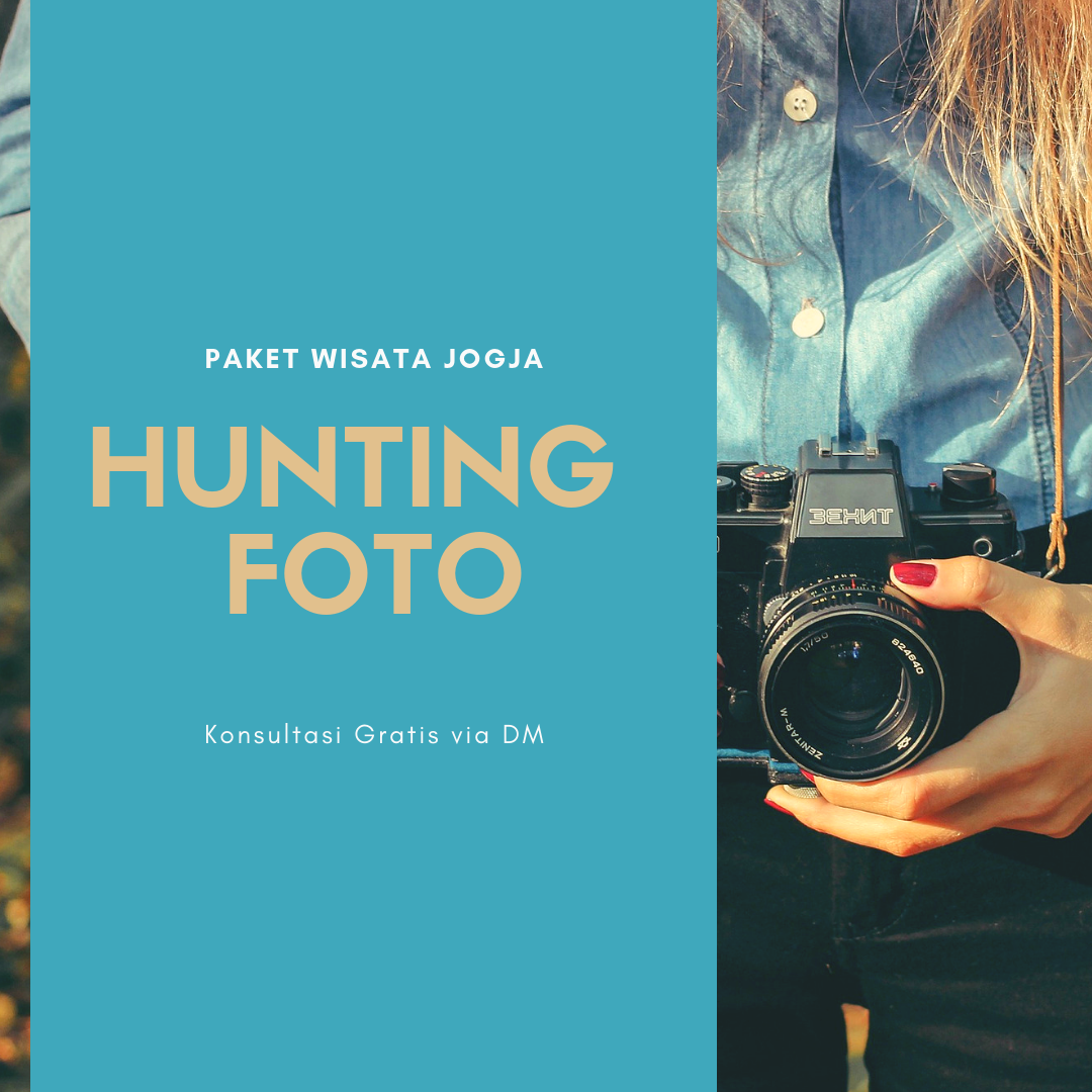 Contoh Desain Konten Instagram Hunting Foto