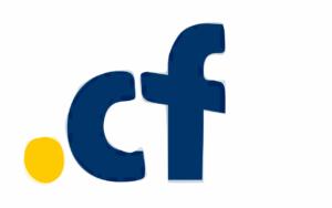 Logo Domain Gratisan Dot CF