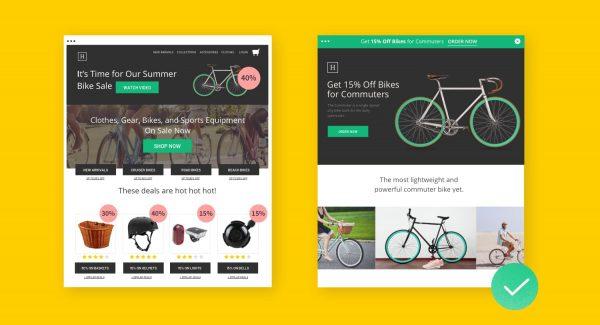 Perbedaan Landingpage dan Homepage
